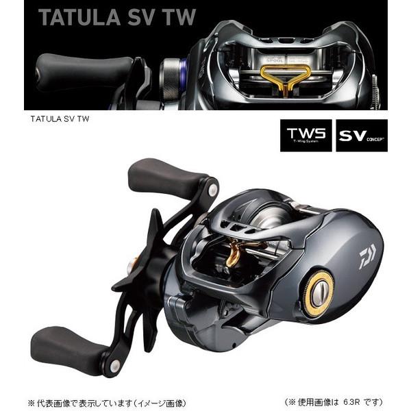 ダイワ タトゥーラ SV TW 6.3R