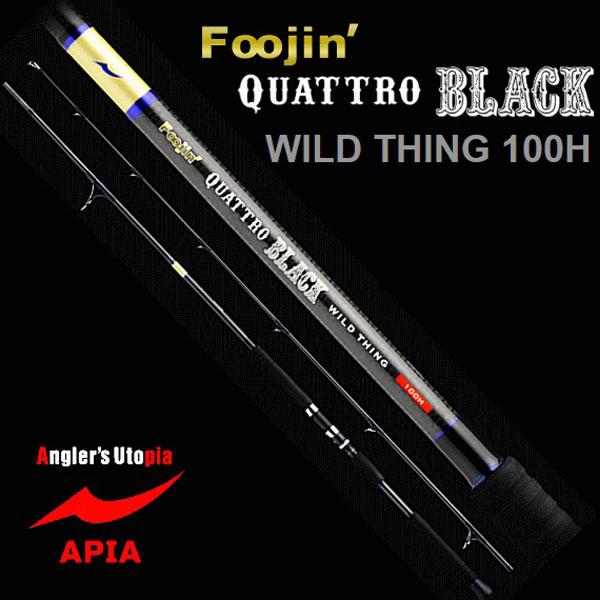 apia(阿皮亚)/Foojin'kuatoro BLACK WILD THING 100H