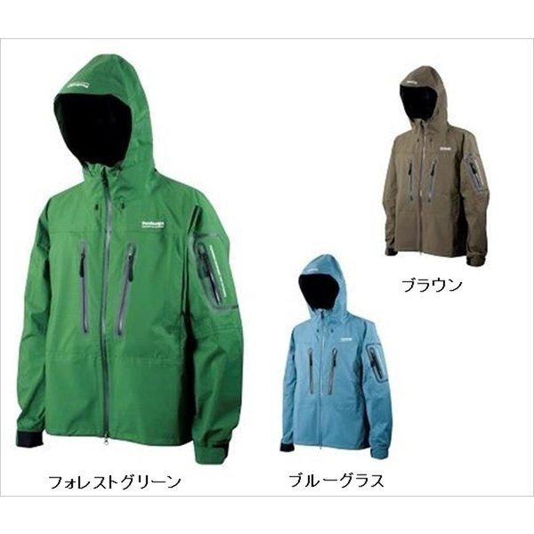 Pazdesign(パズデザイン)/ BSトラウトレインジャケット ZBR-006 ブルーグラス S