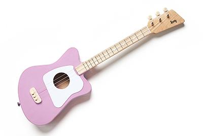 子供や初心者でも簡単!17弦ギター [Loog ルーグ] Loog mini アコースティック・ギター(ピンク) Loog mini-Pink
