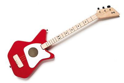 子供や初心者でも簡単!3弦ギター [Loog ルーグ] Loog Pro アコースティック・ギター(レッド) Loog Pro A-Red