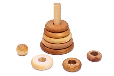 【100%天然素材の積み木や木製玩具】ナチュラル・スタッカー対象年齢:1歳~Wooden Story<ウドゥン・ストーリー>【楽ギフ_包装】【楽ギフ_のし宛書】【楽ギフ_メッセ入力】