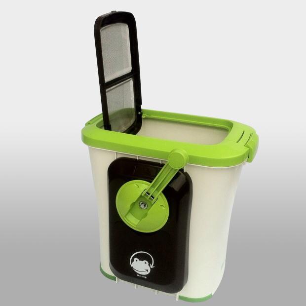 電気を使わない生ゴミ処理機なので 環境に優しく 維持費が大変安い fr-gm 自然にカエルS基本セット 新品未使用正規品 手動式 高品質