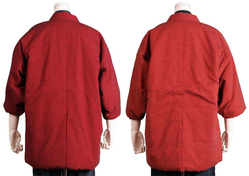 正宗久留米豪华衬垫 happi 外套男子背心翻转日本作礼品的妇女久留米 Bookman 图案时尚布天堂和呈现流行发音女士冬季男装