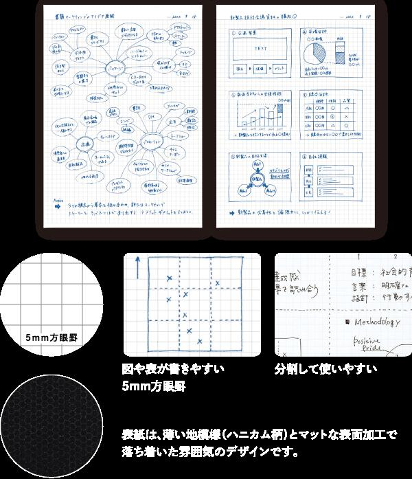 KOKUYO squares ruled line adult campus notebook twin ring notebook A4 size