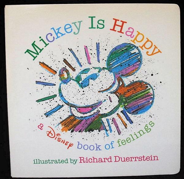 【えほん】【Disney「Mickey Is Happy]】中古:ほぼ新品