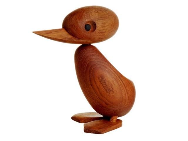 アーキテクトメイド Architectmade/ダック Duck/木製人形 Wood Toy 北欧 北欧雑貨 デンマーク オブジェ ハンス・ブリング プレゼント お祝い