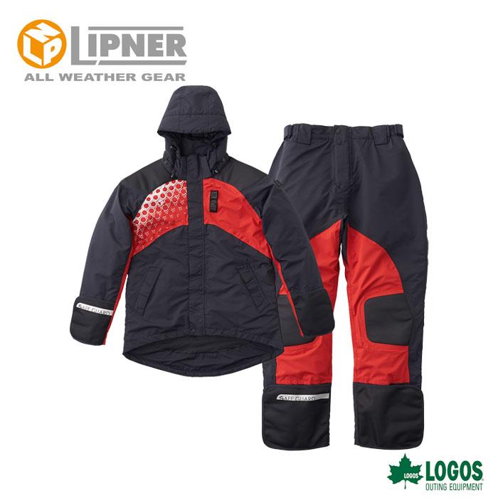 LIPNER リプナー LIPNERプロモデル 防水防寒スーツ ブラック 3037071 メンズ