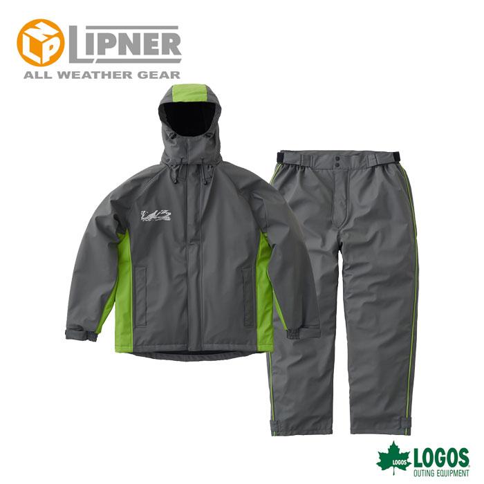 LIPNER リプナー 超耐水防水防寒スーツ パメラ グレー 3037821 メンズ