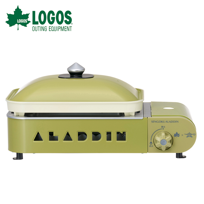 ロゴス LOGOS×SENGOKU ALADDIN ポータブル ガス ホットプレート プチパン(限定まな板付) 81060010
