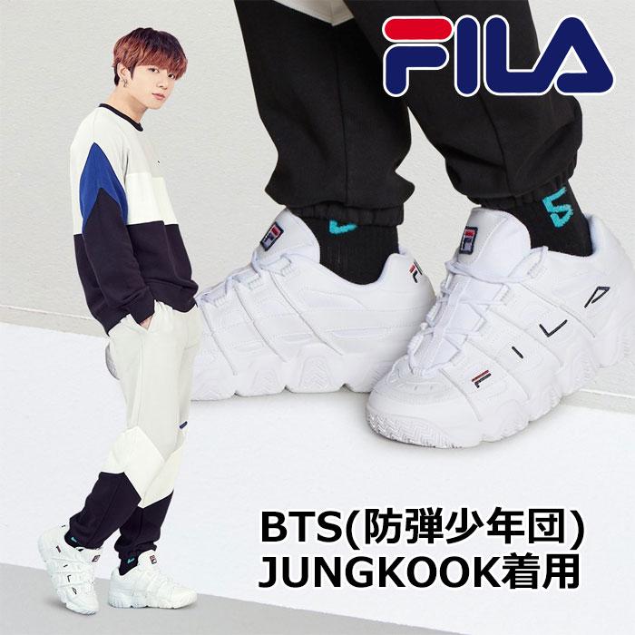 FILA BTS フィラ シューズ スニーカー JUNGKOOK着用モデル MFF0414 メンズ 2020年春夏