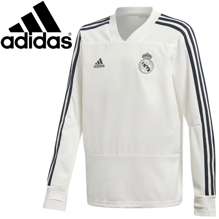 FZONE  Adidas KIDS Real Madrid training top Jr. EVB24-CW8665 ... 766094f405511