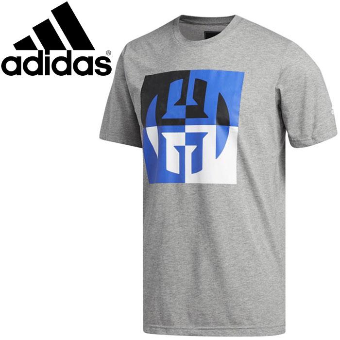 buy online 5a9f4 21e61 Adidas HARDEN BIG LOGO T-shirt men EVM58-CW9231