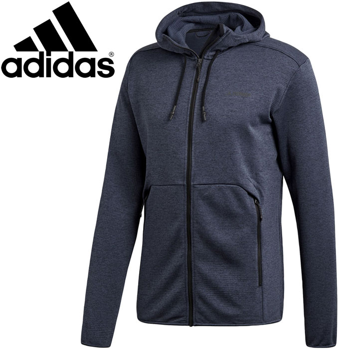 8e98865ddb34 FZONE  Adidas CLIMB THE CITY FLEECE HOODY jacket men DRJ93-D73193 ...