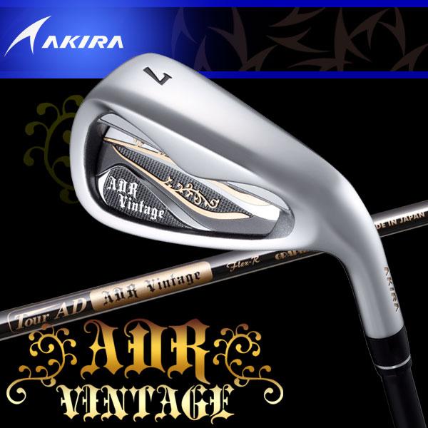アキラ ゴルフ ADR VINTAGE アイアン 5本セット ヴィンテージ