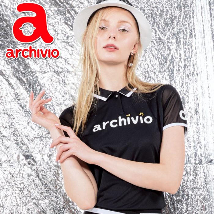 【あす楽対応】アルチビオ archivio ポロシャツ 半袖 A759337 レディース 2018春夏