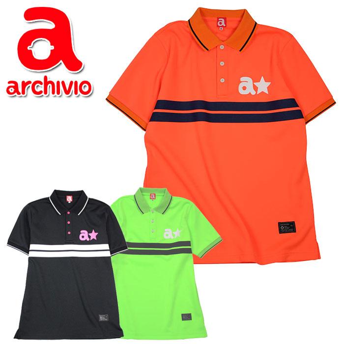 クリアランスセール30%OFF!アルチビオ archivio ゴルフ ポロシャツ 半袖 A829801 メンズ 2018年秋冬