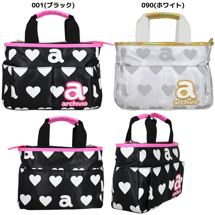 b14d1d06145c The round bag that heart and a logo are cute in material with the  glossiness♪ There is a pocket in the front and the back