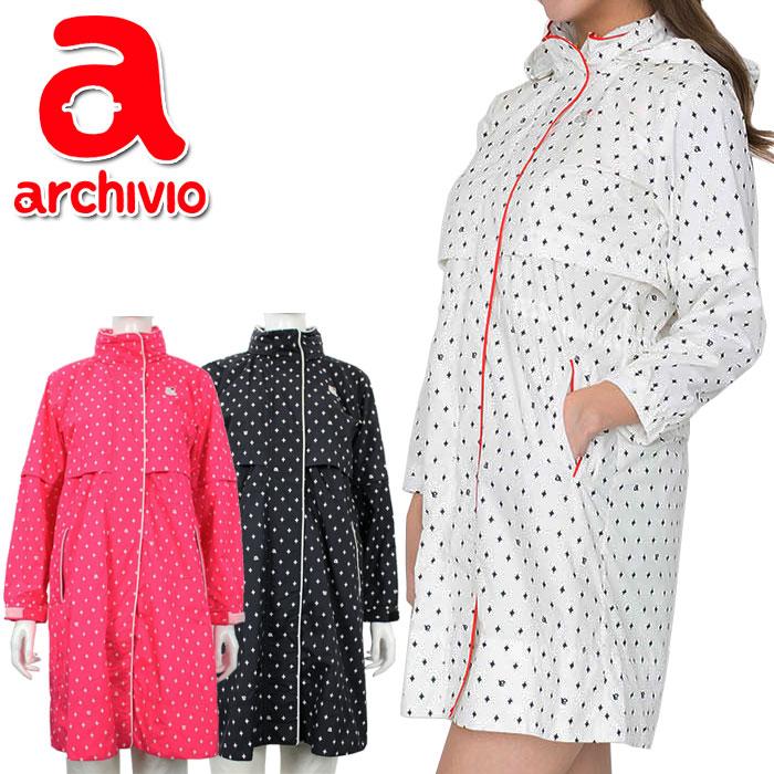 アルチビオ archivio ゴルフ レインコート (巾着付き) レインウェア A853328 レディース 2019年春夏