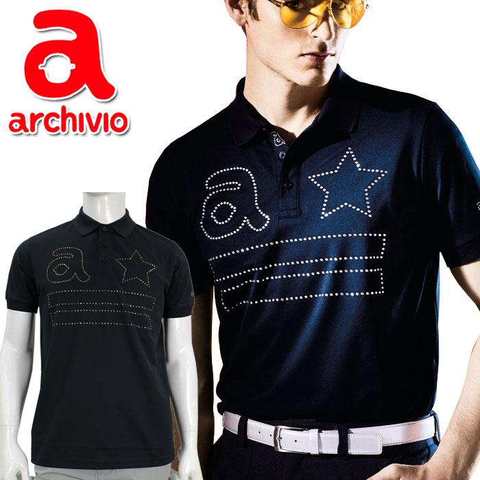 【在庫処分】アルチビオ archivio ゴルフ ポロシャツ 半袖 A869308 メンズ 2019年春夏