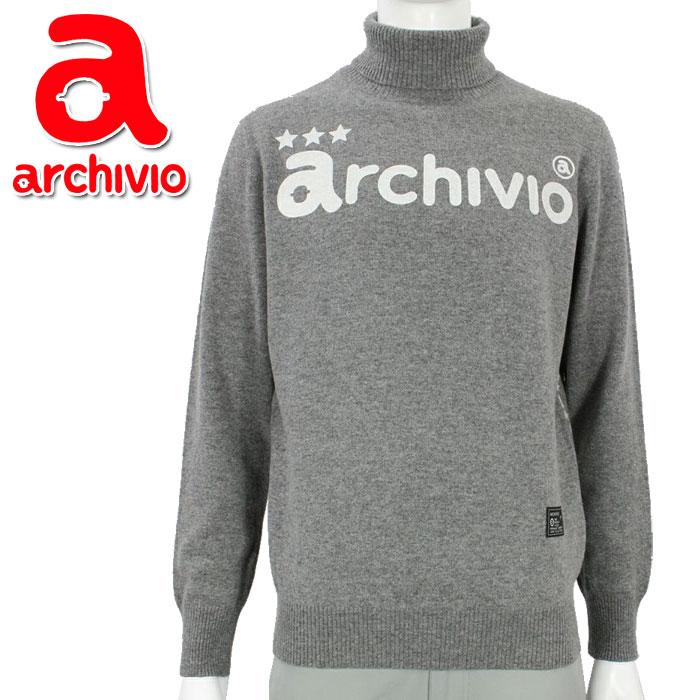 アルチビオ archivio ゴルフウェア タートルネック セーター プルオーバー A928907 メンズ 2019年秋冬