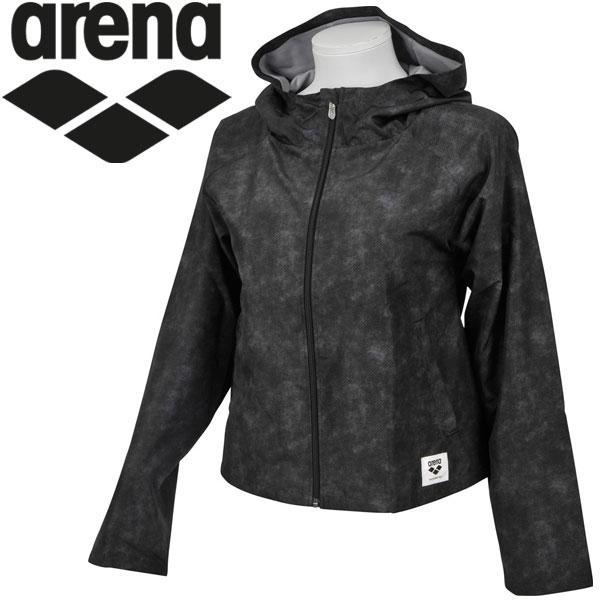 アリーナ ウィンドジャケット レディース ALWLJK33-BLK