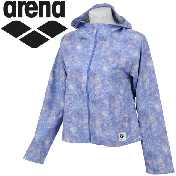 アリーナ ウィンドジャケット レディース ALWLJK33-BLU