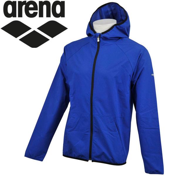 アリーナ ウォームアップトレーニング チームラインウィンドジャケット メンズ AMULJF12-TRC