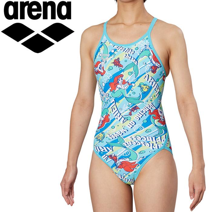 アリーナ 水泳 ディズニー 水着 レディス DIS-9355W-BLU 《返品不可》