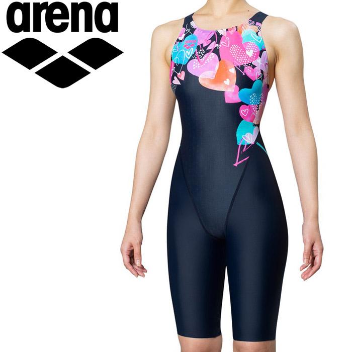アリーナ 水泳 マスターズSP 競泳 水着 レディス FAR-9575WY-NVPK 《返品不可》