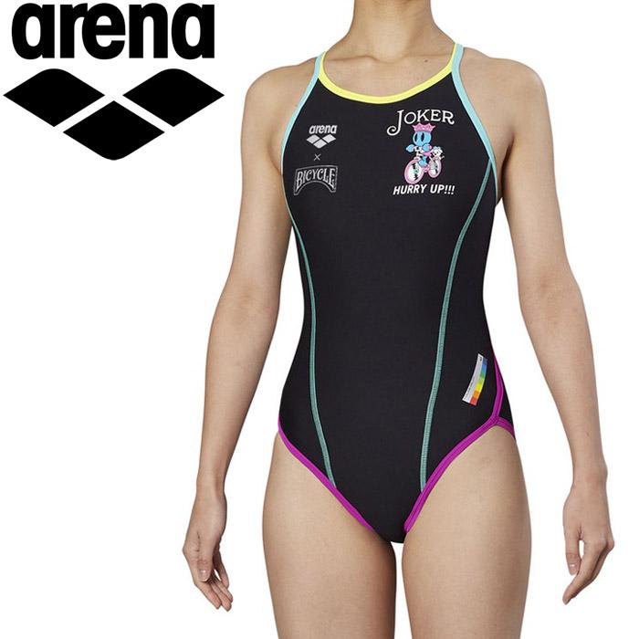 アリーナ 水泳 スーパーフライバック トレーニング 水着 レディス FSA-9603W-JOKE 《返品不可》