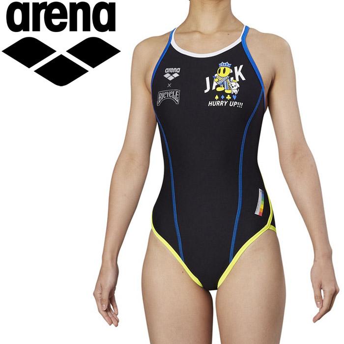 アリーナ 水泳 スーパーフライバック トレーニング 水着 ガールズ ジュニア FSA-9603WJ-JACK 《返品不可》