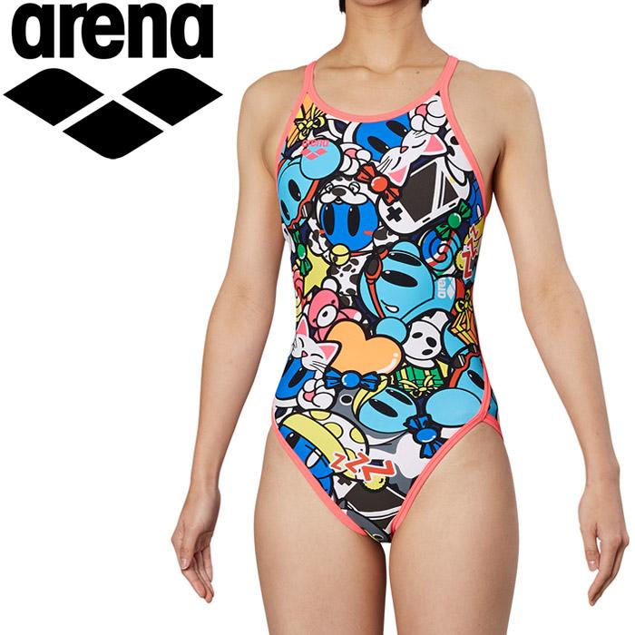 アリーナ 水泳 スーパーフライバック トレーニング 水着 レディス FSA-9617W-PNK 《返品不可》
