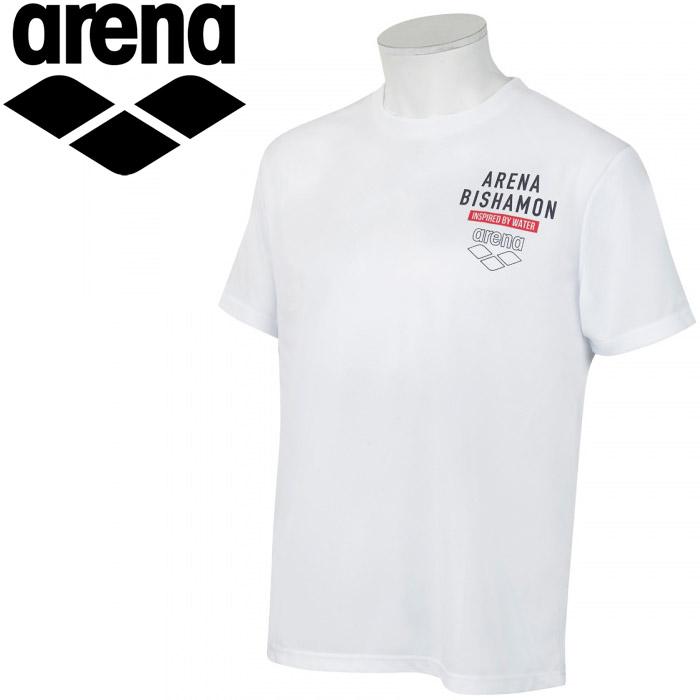 期間限定お買い得プライス メール便送料無料 アリーナ 全国どこでも送料無料 マルチトレ-ニング AMUQJA52-WTNV ユニセックス 全品送料無料 Tシャツ