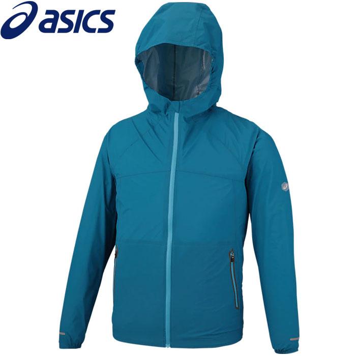 アシックス ウォータープルーフジャケット メンズ 154233-400