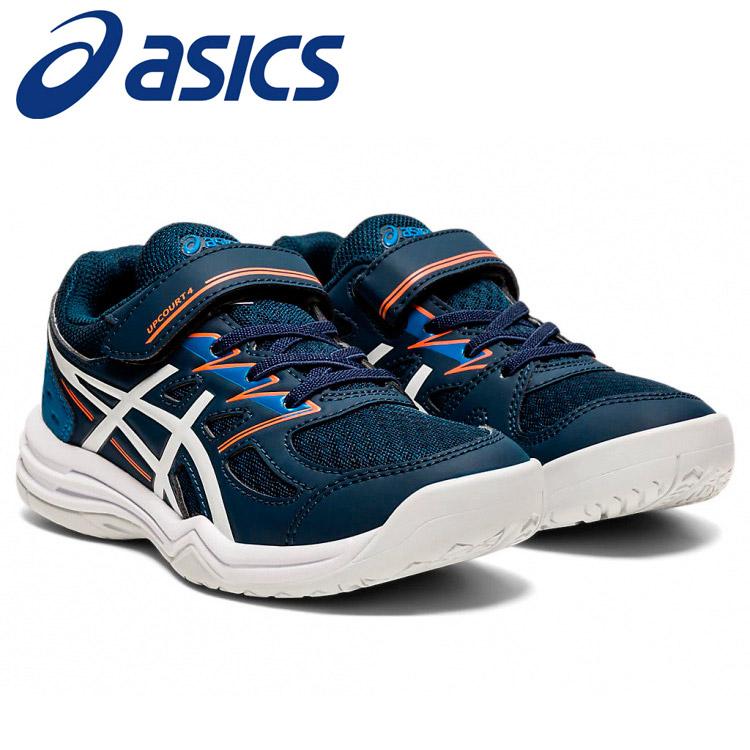 アシックス テニス UPCOURT 4 PS キッズシューズ 1074A029-402