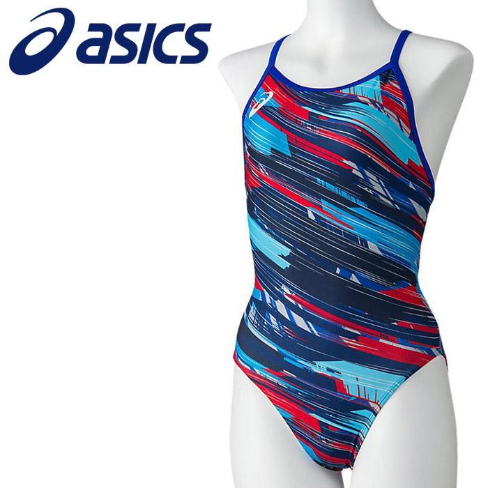 アシックス 水泳 W'Sレギュラー 水着 レディース 2162A061-400