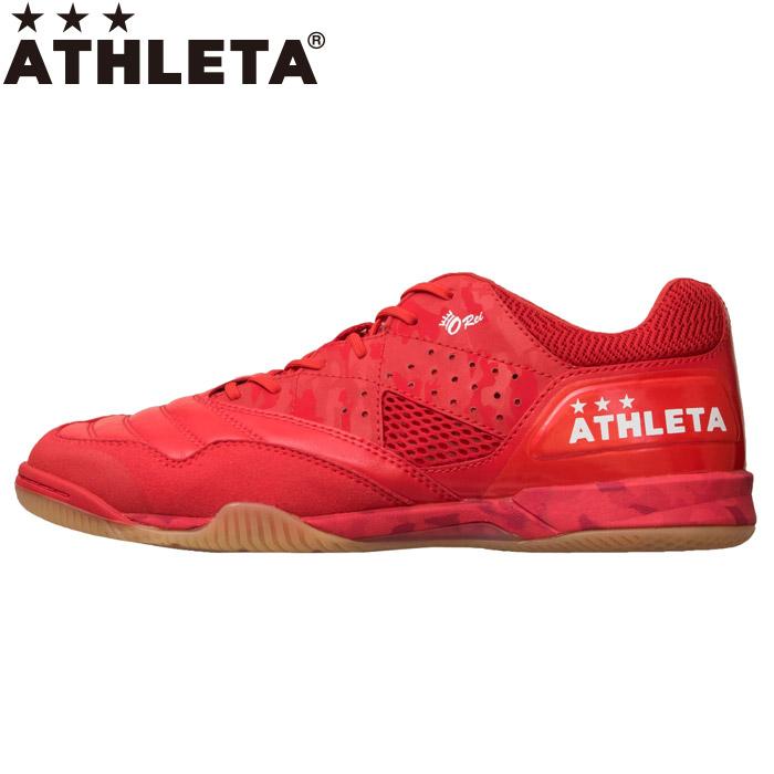 【ポイントアップ祭!】アスレタ O-Rei Futsal Rodrigo フットサルシューズ メンズ 11007-RED