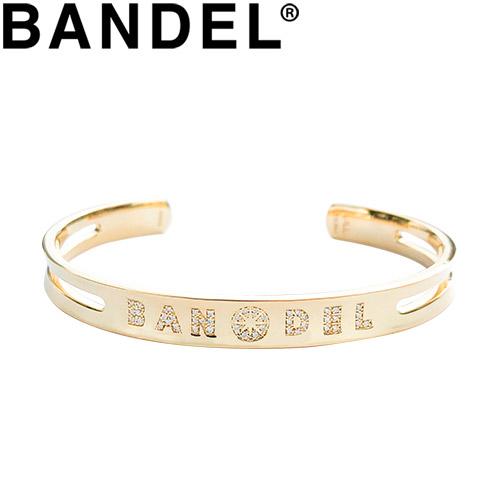【全品送料無料!6月20日00:00~7月1日09:59迄(一部地域除く)】バンデル バングル Diamond Custom Bangle Gold