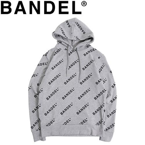 バンデル フーディ パーカー Hoodie All Over BAN-HD003 Grey×Black
