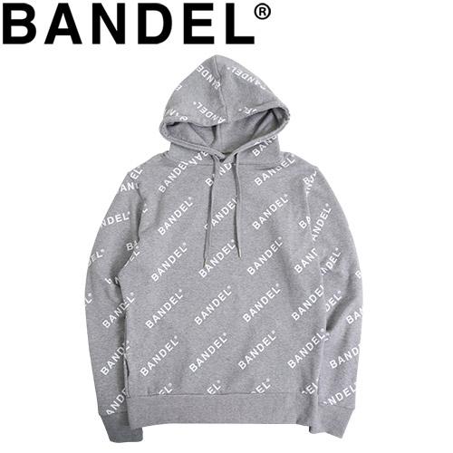 バンデル フーディ パーカー Hoodie All Over BAN-HD003 Grey×White