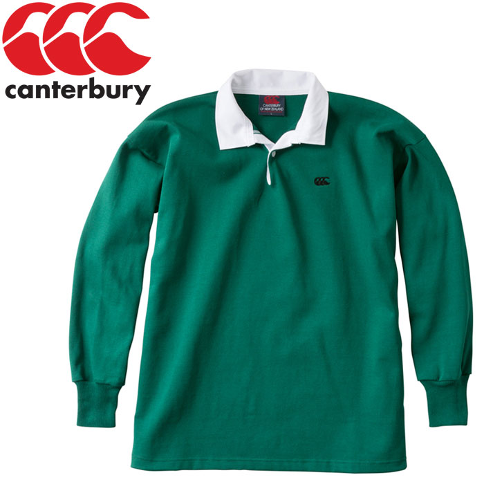 ca7d3766b39 FZONE: Canterbury NZ solid color rugby jersey men RA98000-48 ...