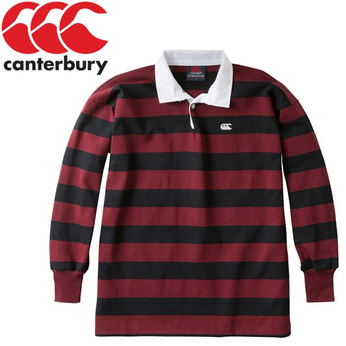 87d09f31dd0 FZONE: Canterbury NZ stripe rugby jersey men RA98001-69 | Rakuten ...
