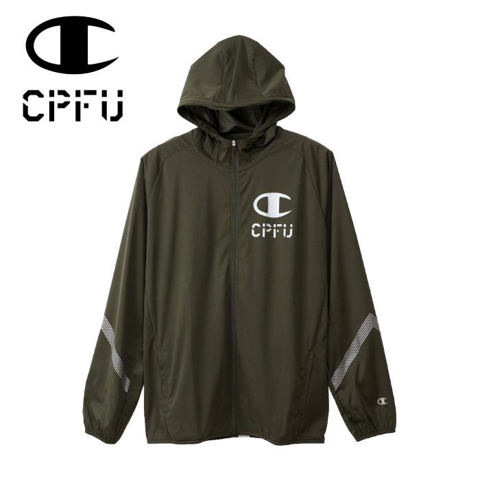 【ポイントアップ祭!】チャンピオン CPFU ストレッチ フルジップフーディー メンズ C3-PSC02-672 19SS