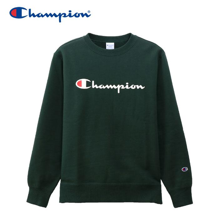 チャンピオン スウェットシャツ クルーネック 裏起毛 メンズ C3-Q007-570 19FW