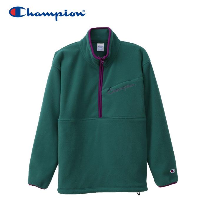 チャンピオン ハーフジップジャケット アクションスタイル メンズ C3-Q602-570 19FW クリアランスセール 長袖 ロングスリーブ
