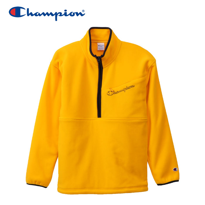 チャンピオン ハーフジップジャケット アクションスタイル メンズ C3-Q602-748 19FW クリアランスセール
