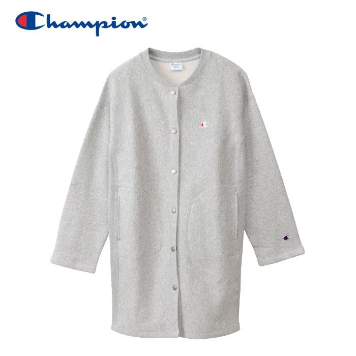 チャンピオン スナップジャケット リバースウィーブ(青タグ) 11.5oz レディース CW-Q012-040 19FW クリアランスセール