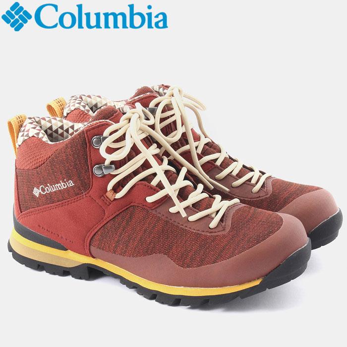 コロンビア メテオミッドオムニテック ニット 登山シューズ メンズ レディース YU3978-837