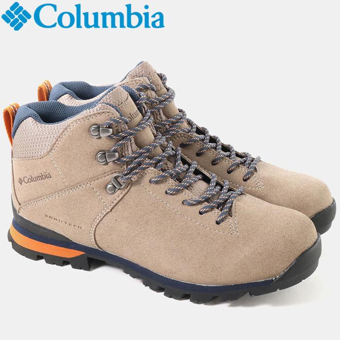 コロンビア メテオミッドオムニテック 登山シューズ メンズ レディース YU3979-005